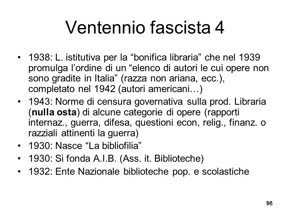 Ventennio fascista 4