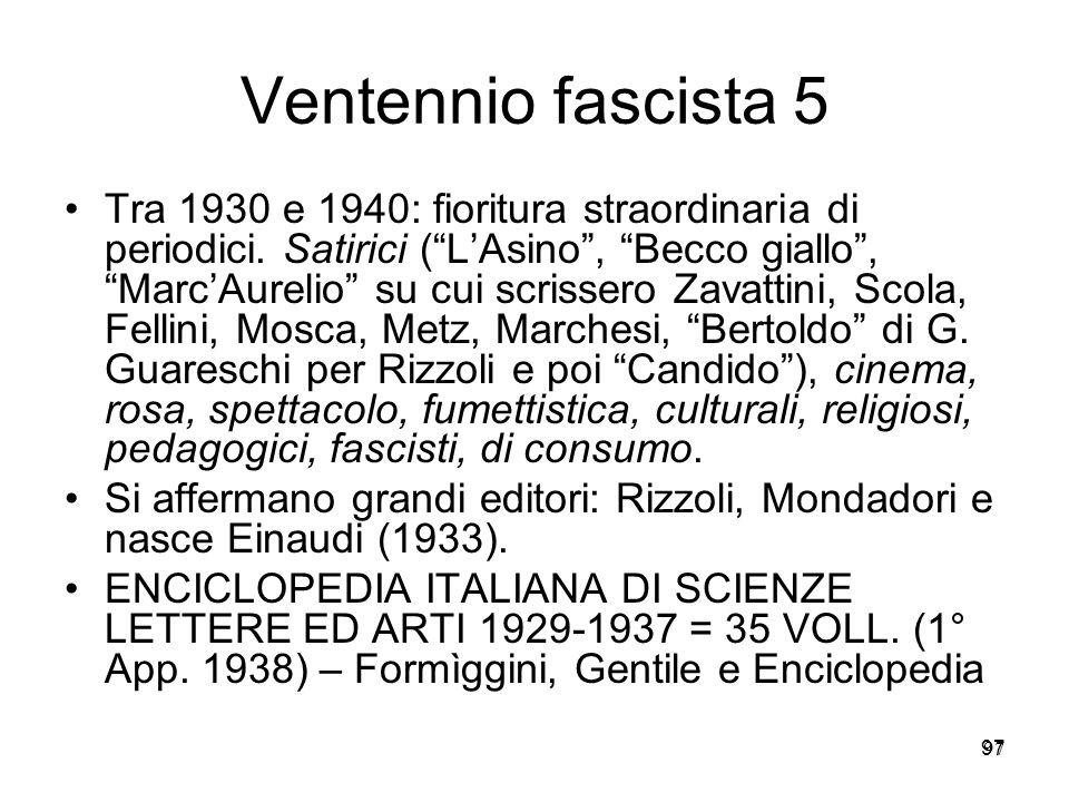 Ventennio fascista 5