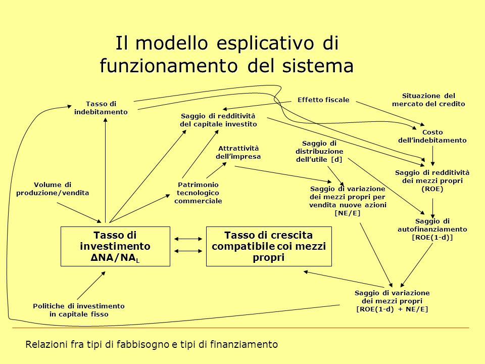 Il modello esplicativo di funzionamento del sistema
