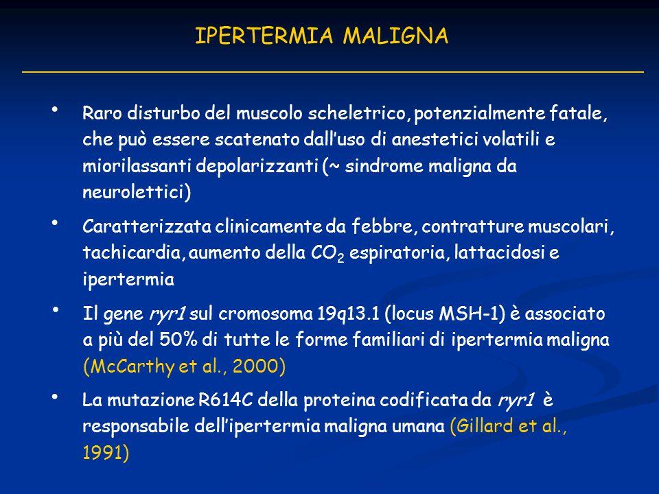 IPERTERMIA MALIGNA