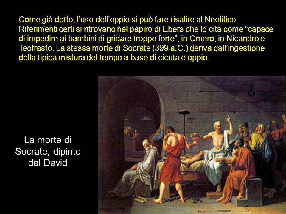 La morte di Socrate, dipinto del David