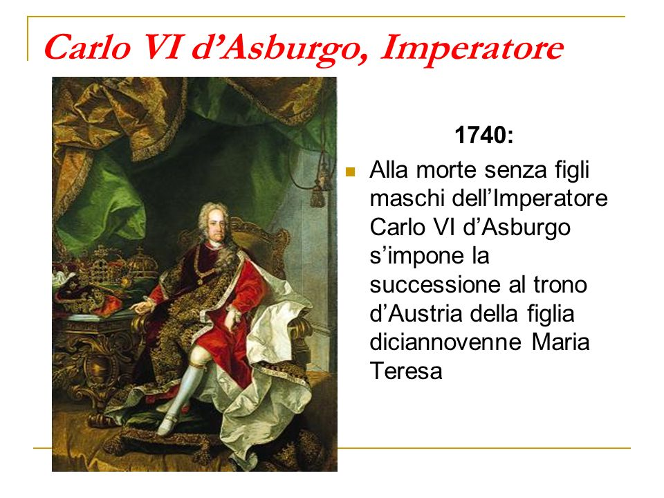 Carlo VI d'Asburgo, Imperatore
