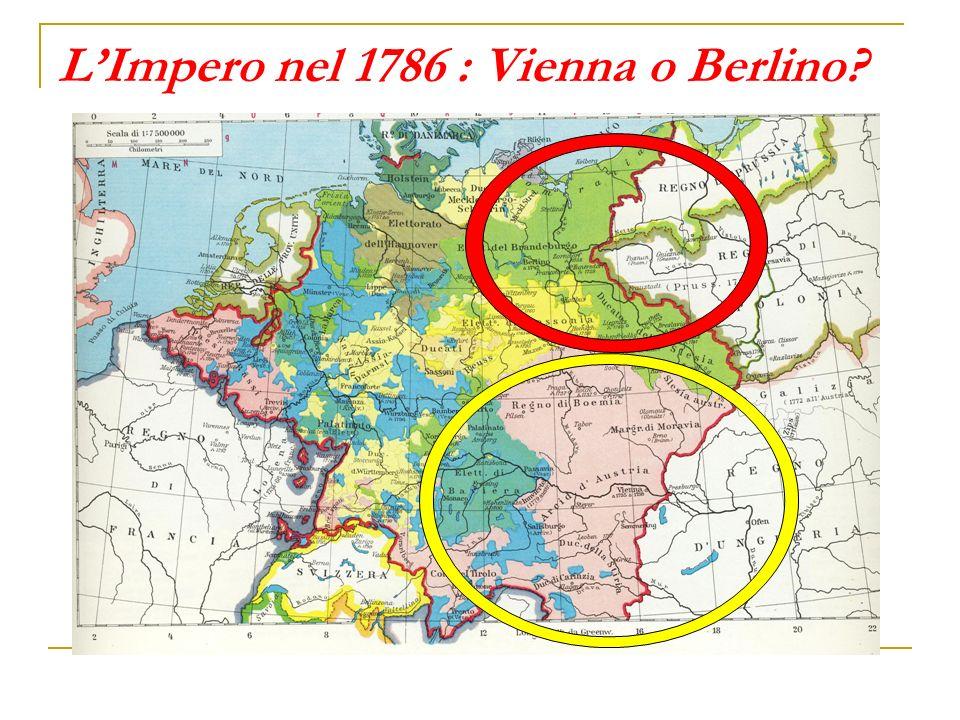 L'Impero nel 1786 : Vienna o Berlino