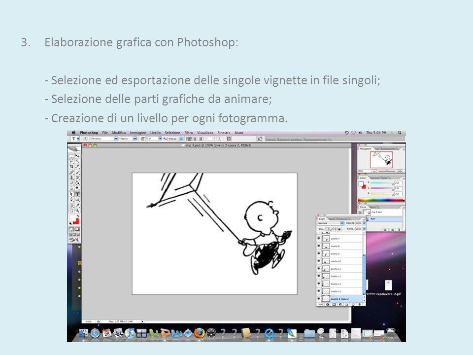 3. Elaborazione grafica con Photoshop:
