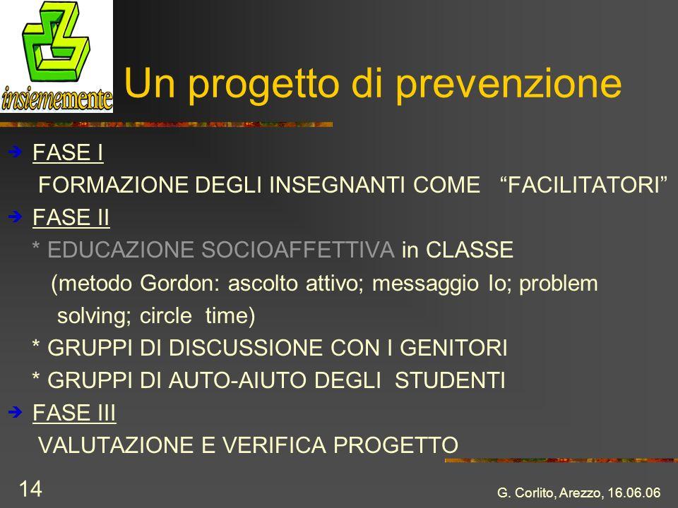 Un progetto di prevenzione