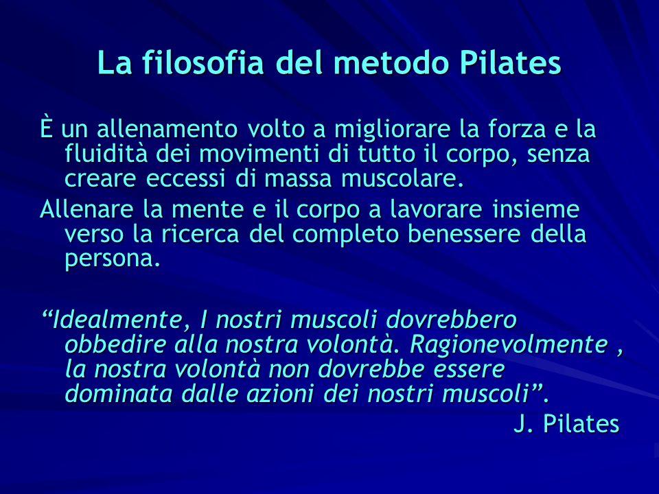 La filosofia del metodo Pilates