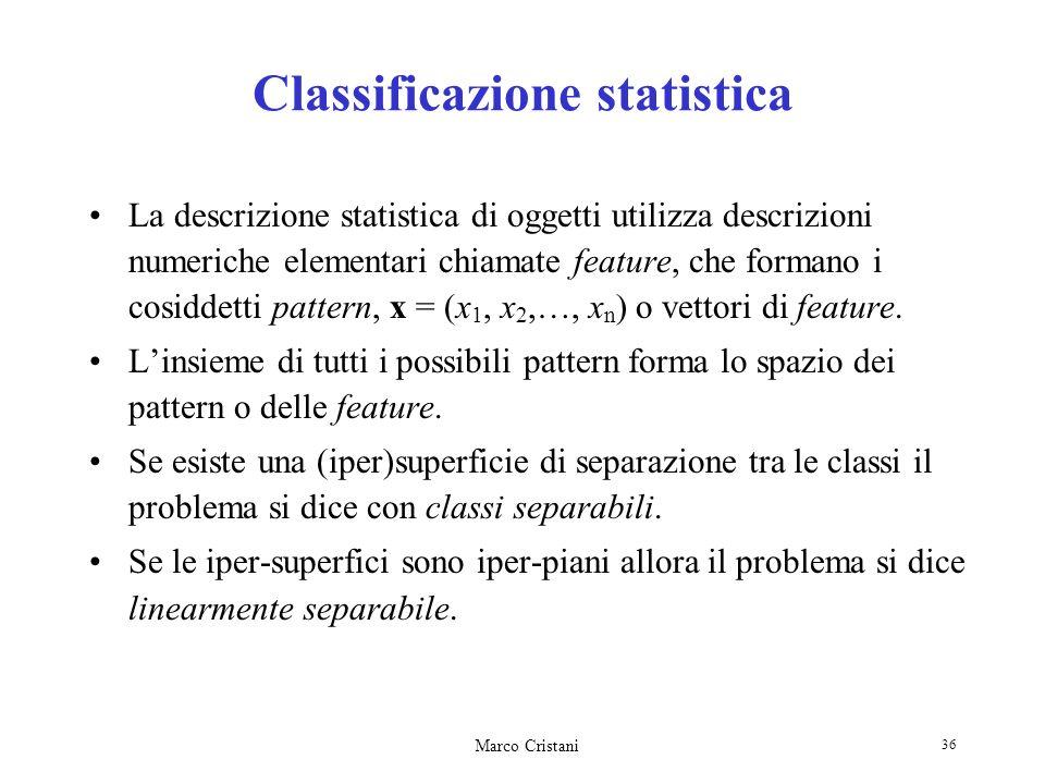 Classificazione statistica