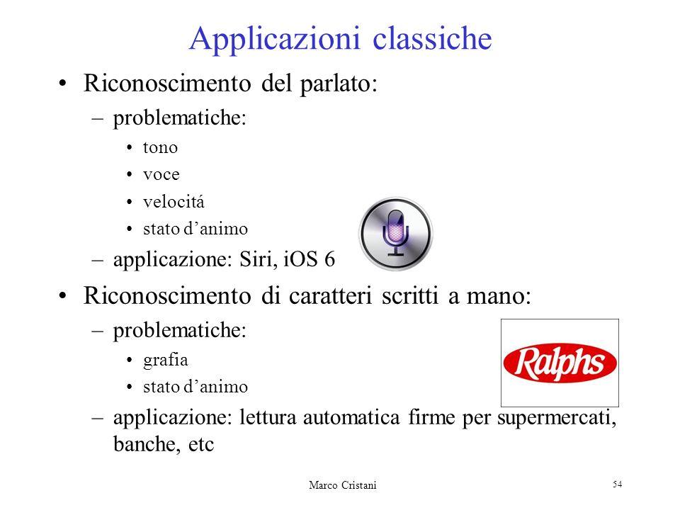 Applicazioni classiche