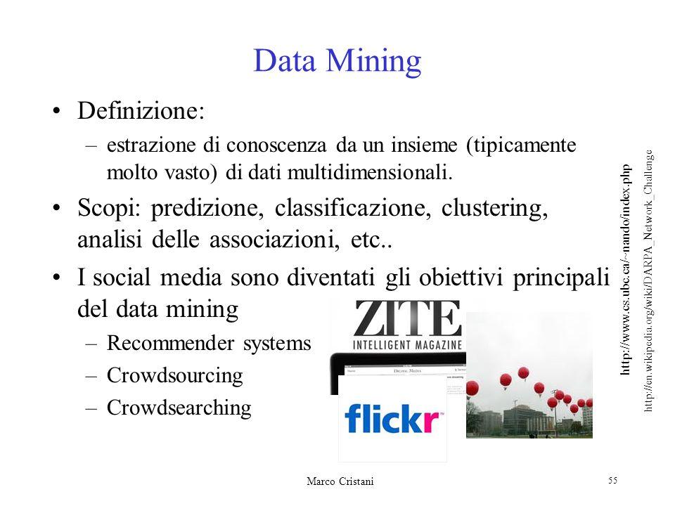 Data Mining Definizione: