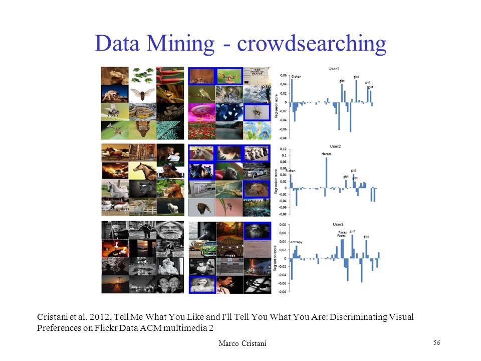 Data Mining - crowdsearching
