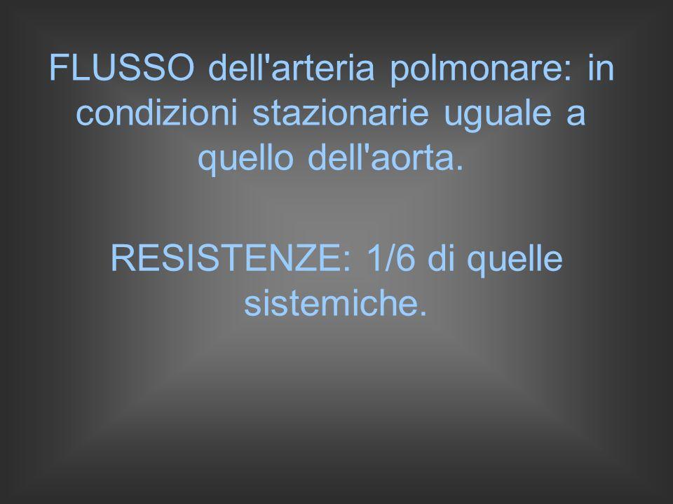RESISTENZE: 1/6 di quelle sistemiche.