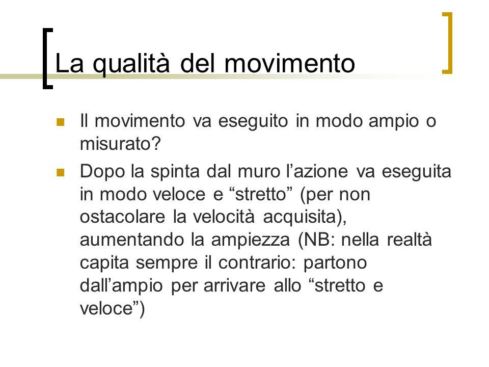 La qualità del movimento