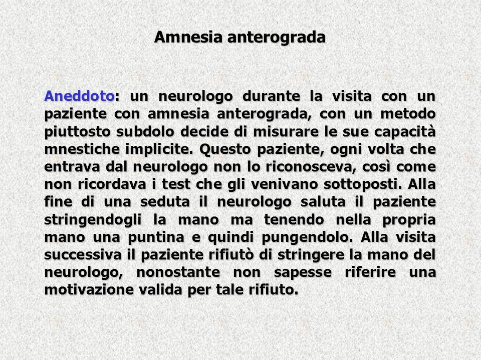 Amnesia anterograda