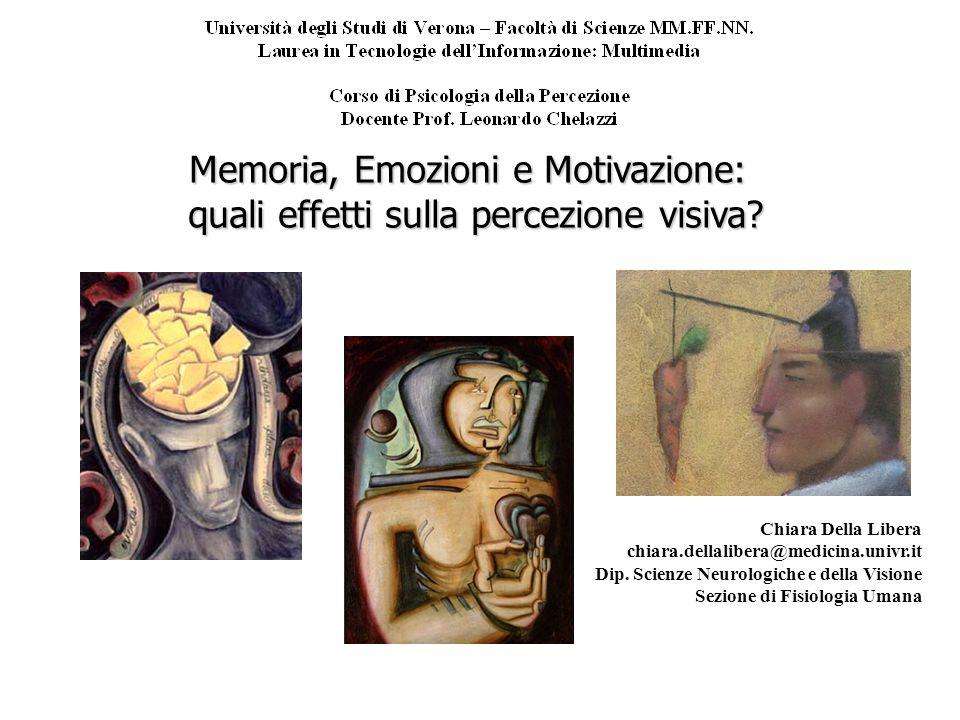 Memoria, Emozioni e Motivazione: