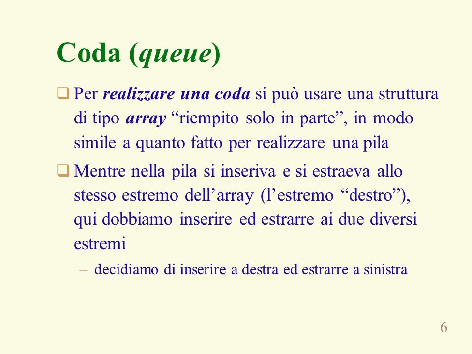Coda (queue)