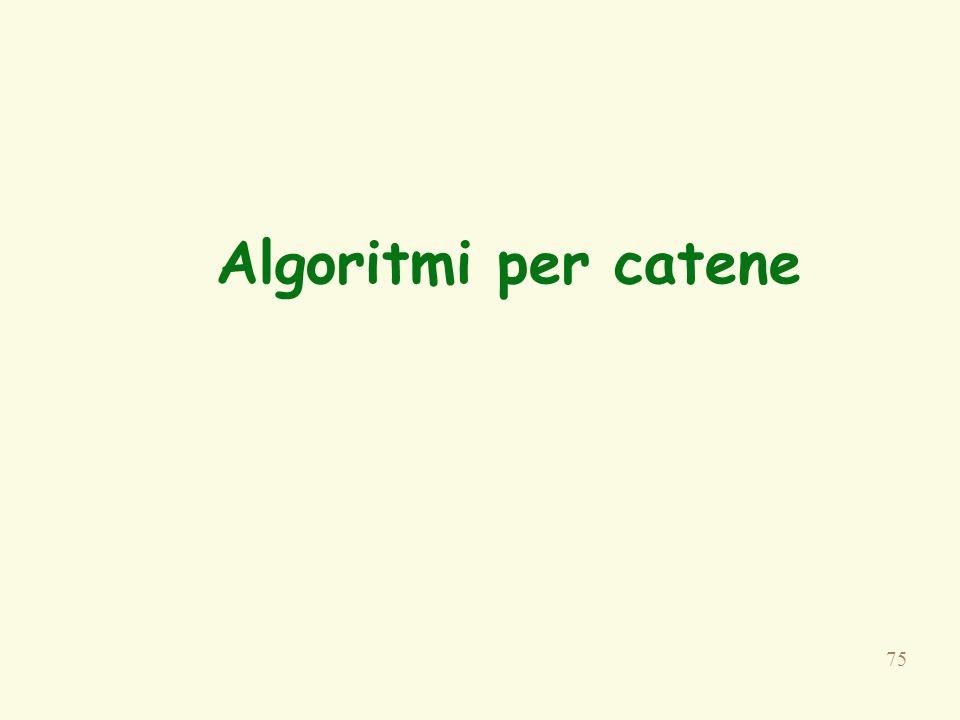 Algoritmi per catene Paragrafo4