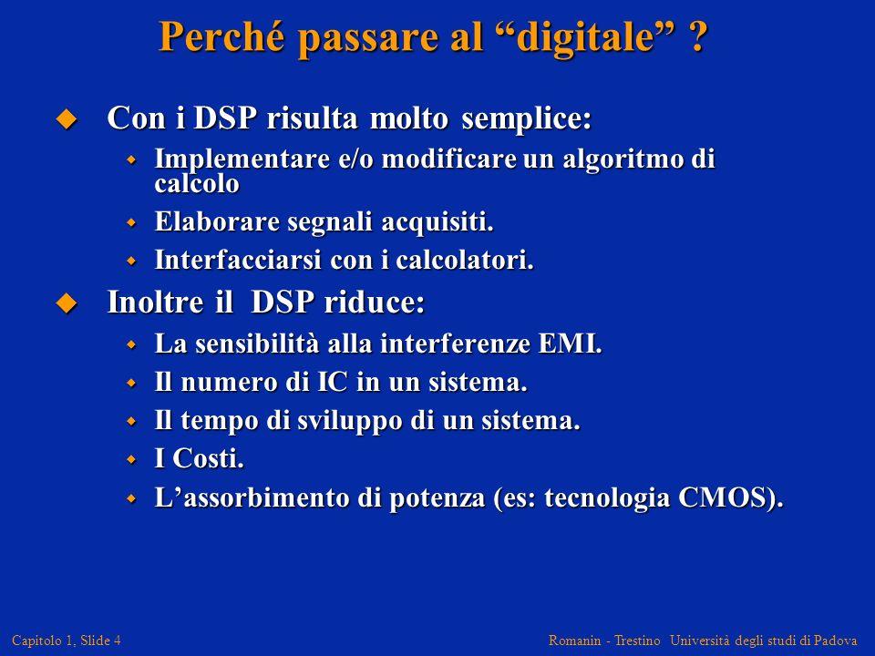 Perché passare al digitale