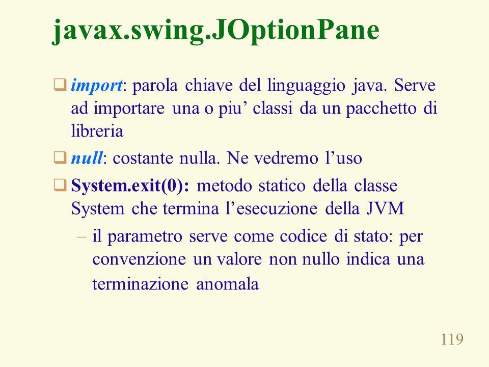 javax.swing.JOptionPane