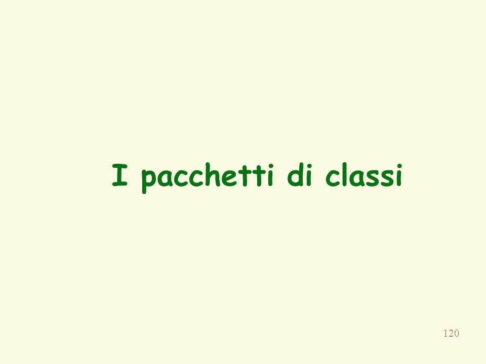 I pacchetti di classi Paragrafo4