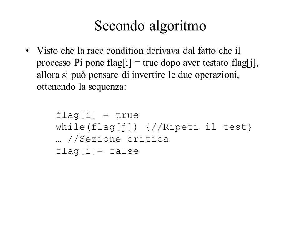 Secondo algoritmo
