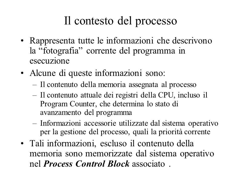 Il contesto del processo