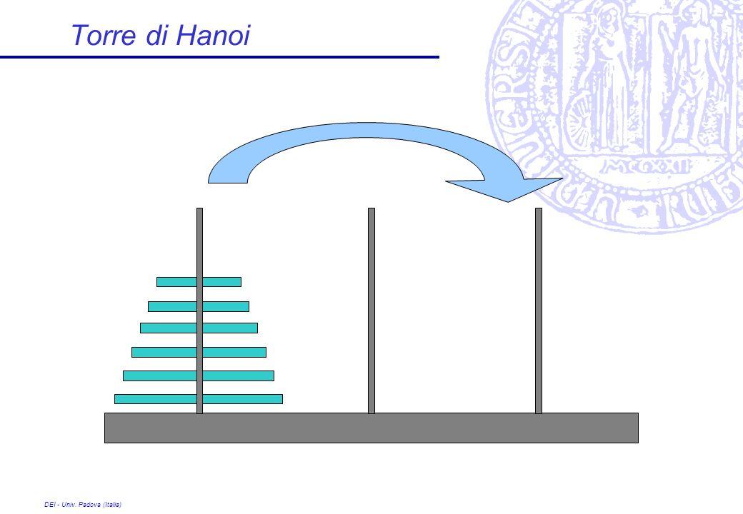 Torre di Hanoi DEI - Univ. Padova (Italia)