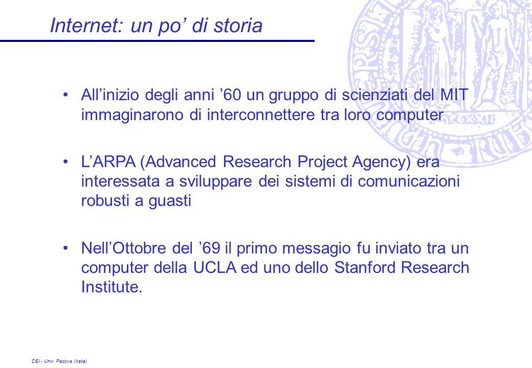 Internet: un po' di storia
