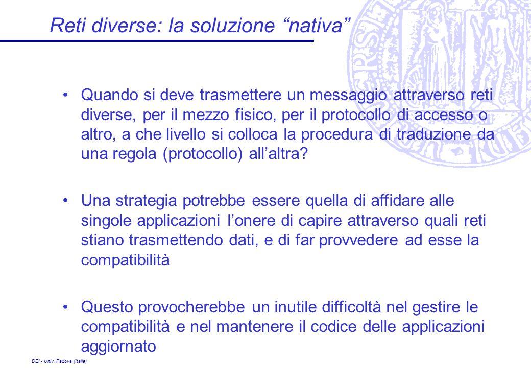 Reti diverse: la soluzione nativa