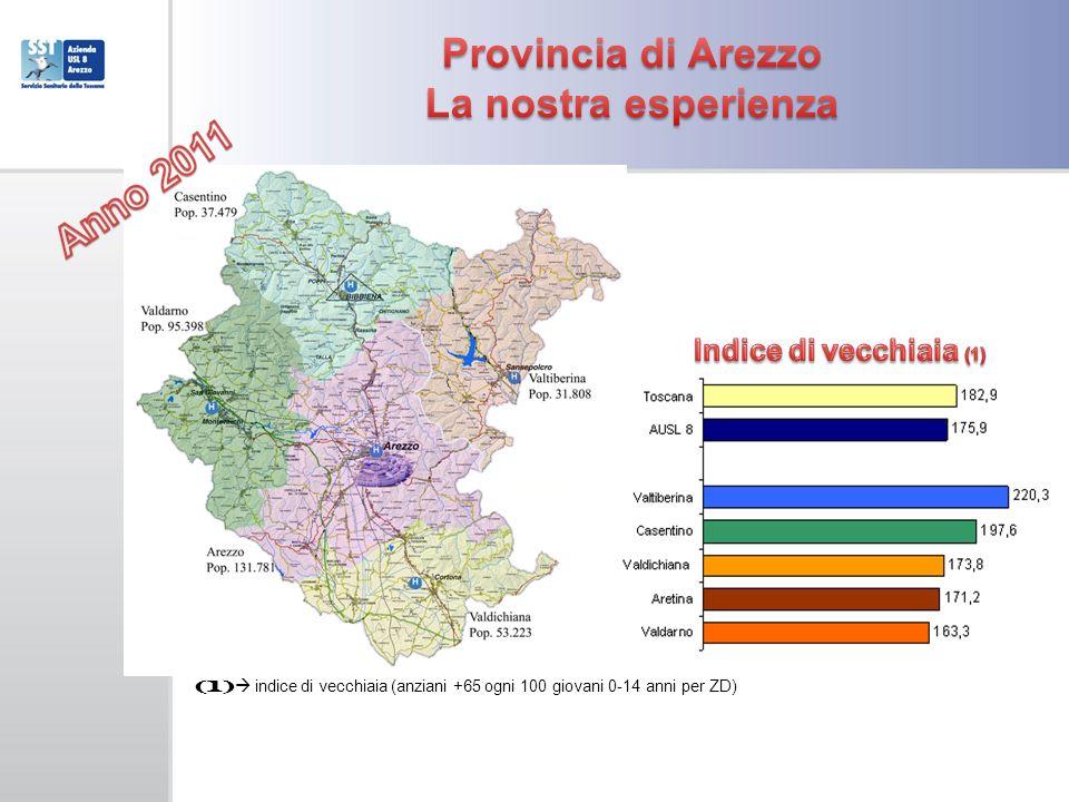 Provincia di Arezzo La nostra esperienza