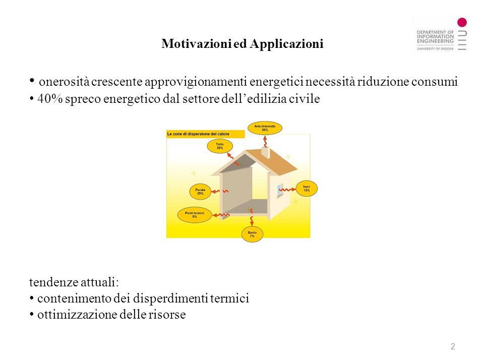 Motivazioni ed Applicazioni