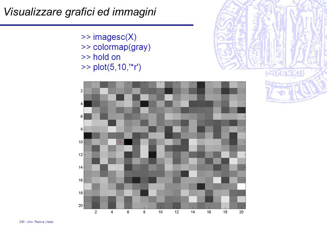 Visualizzare grafici ed immagini