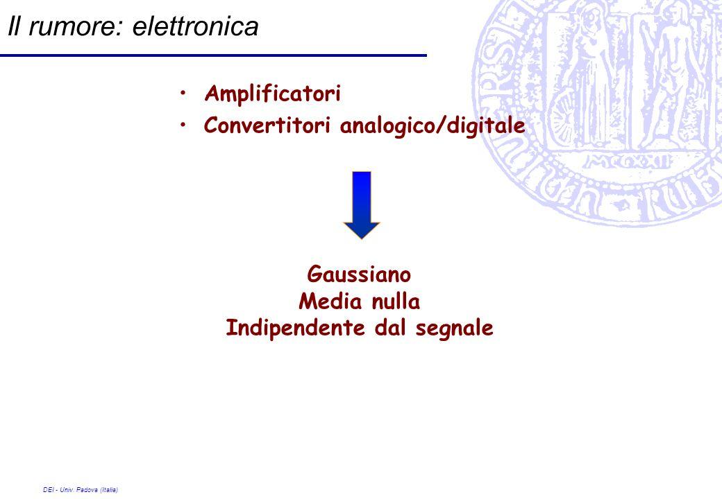 Il rumore: elettronica