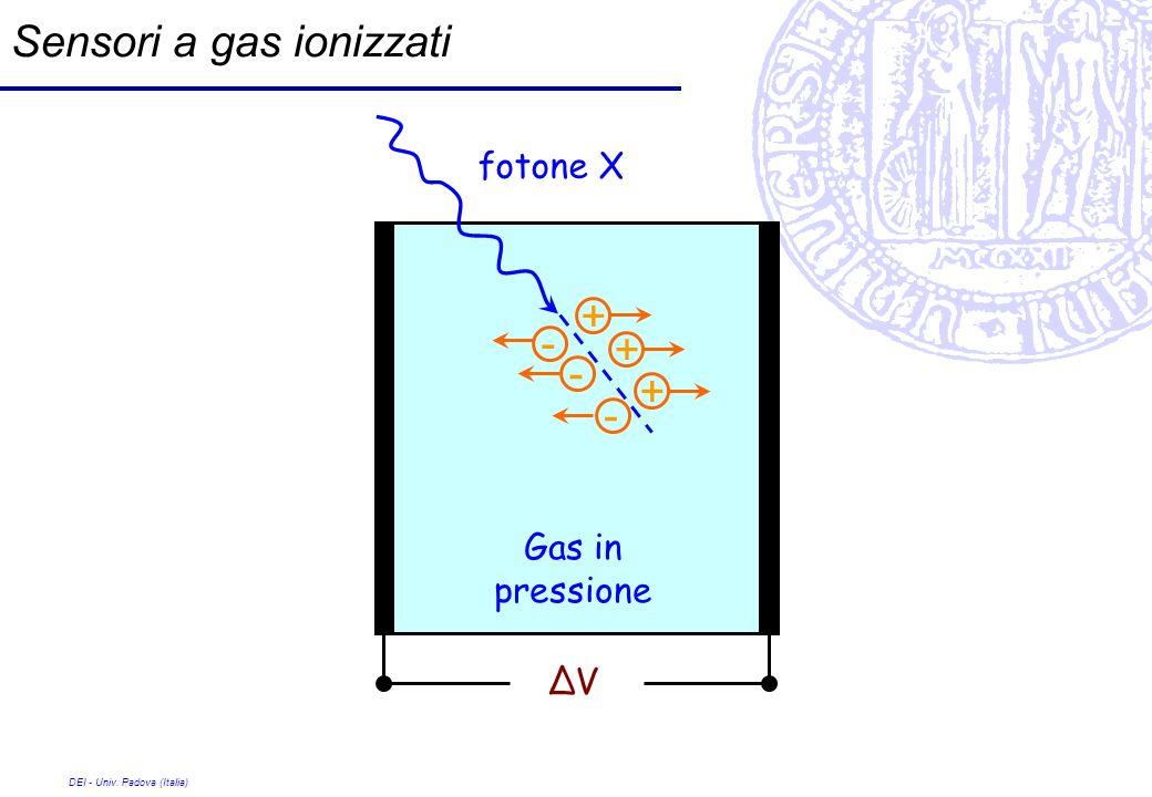 Sensori a gas ionizzati