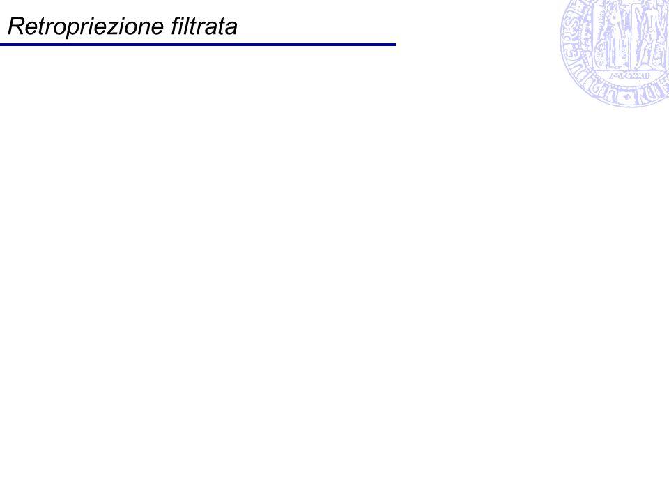 Retropriezione filtrata