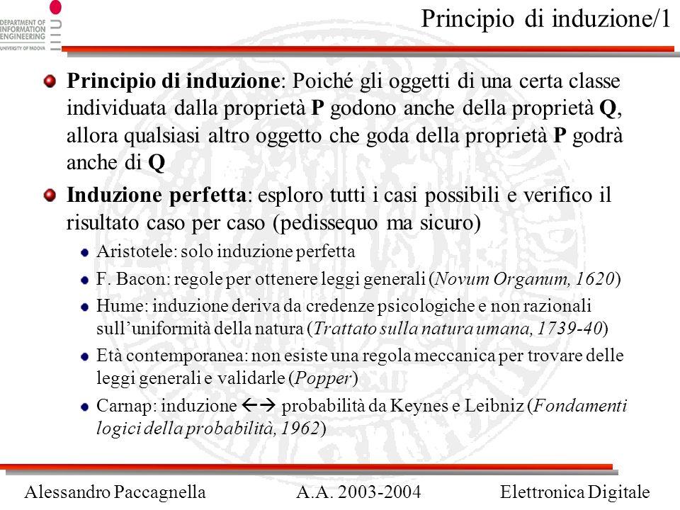 Principio di induzione/1