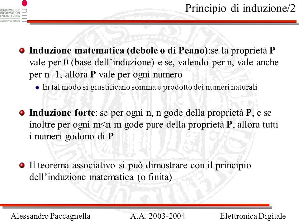 Principio di induzione/2