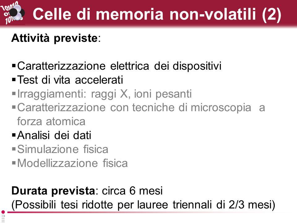 Celle di memoria non-volatili (2)