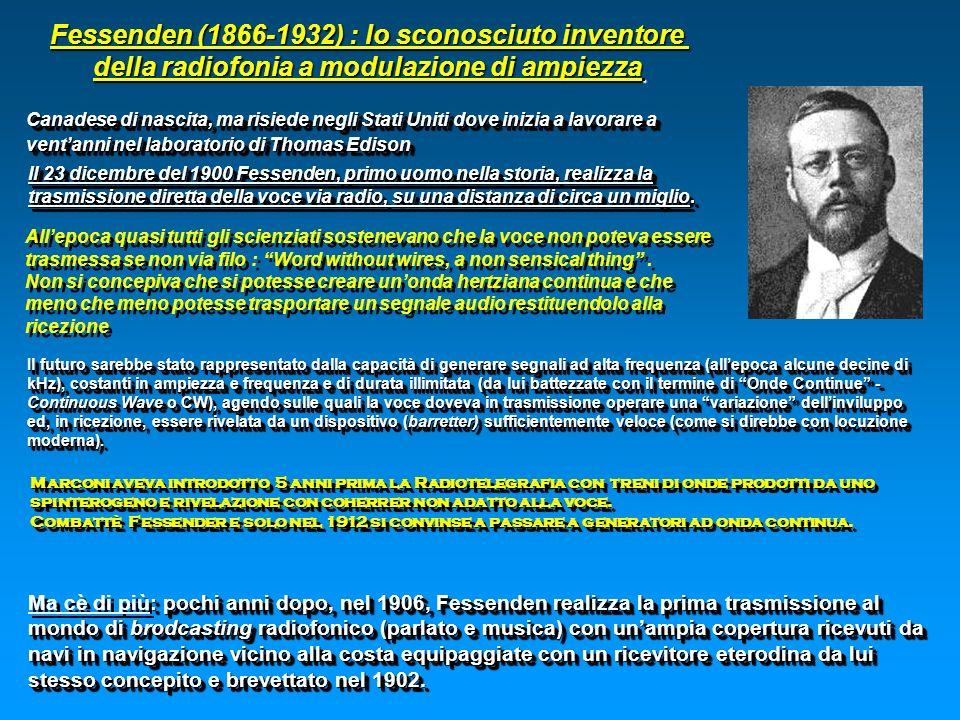 Fessenden (1866-1932) : lo sconosciuto inventore
