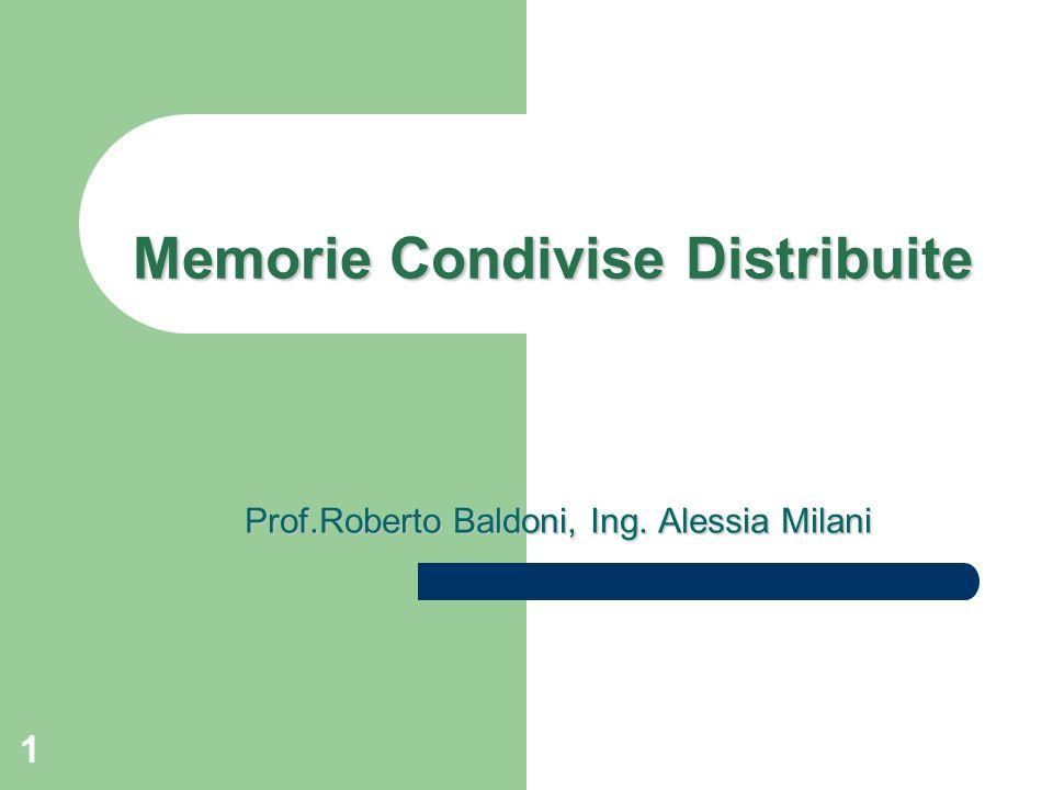 Memorie Condivise Distribuite