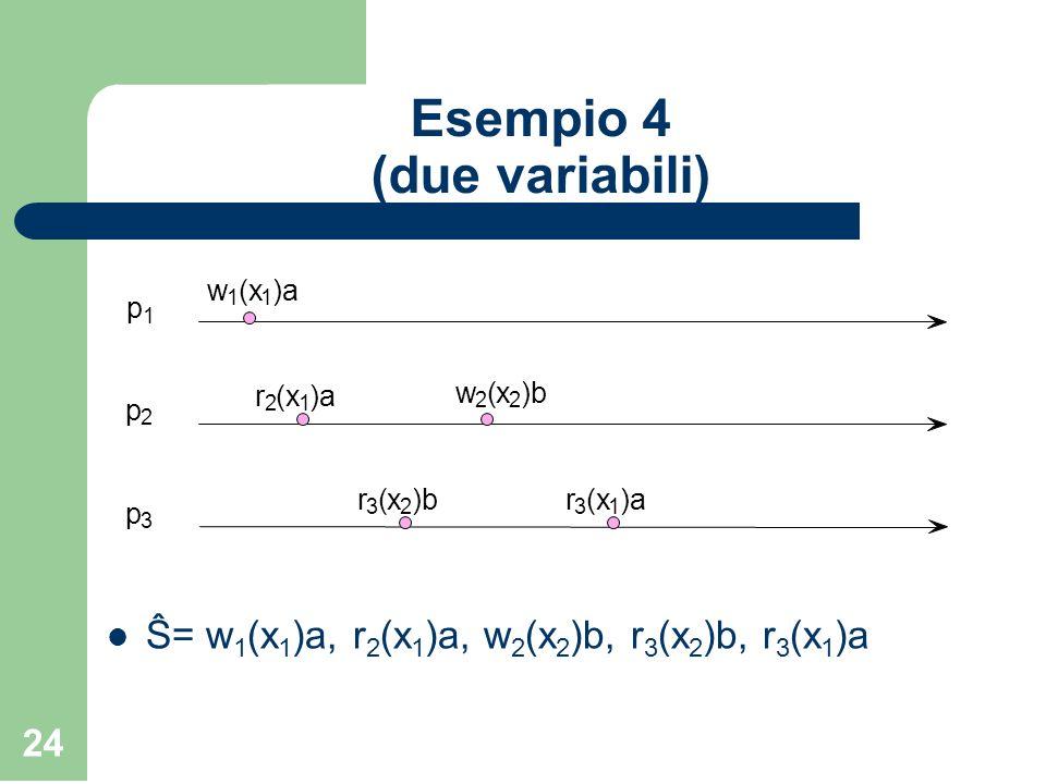 Esempio 4 (due variabili)