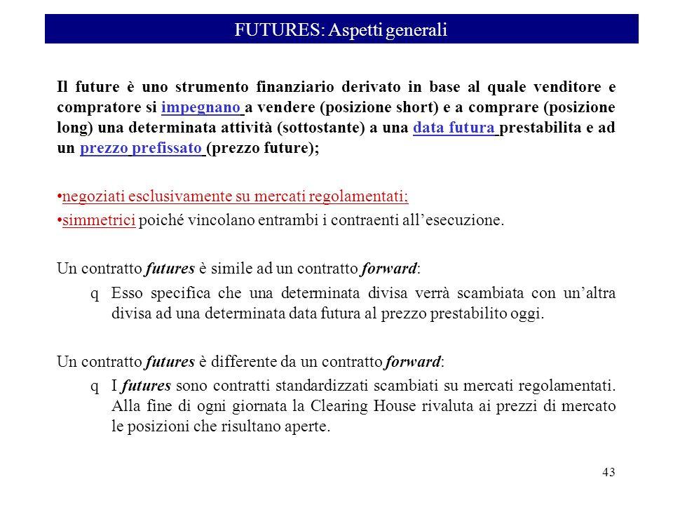 FUTURES: Aspetti generali