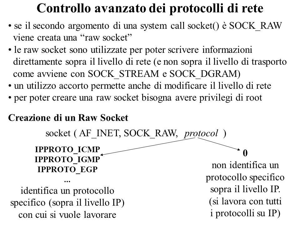 Controllo avanzato dei protocolli di rete