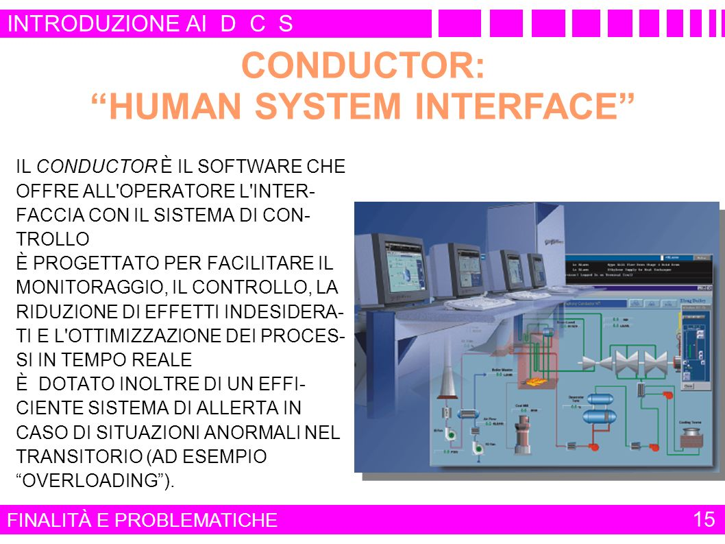 CONDUCTOR: HUMAN SYSTEM INTERFACE