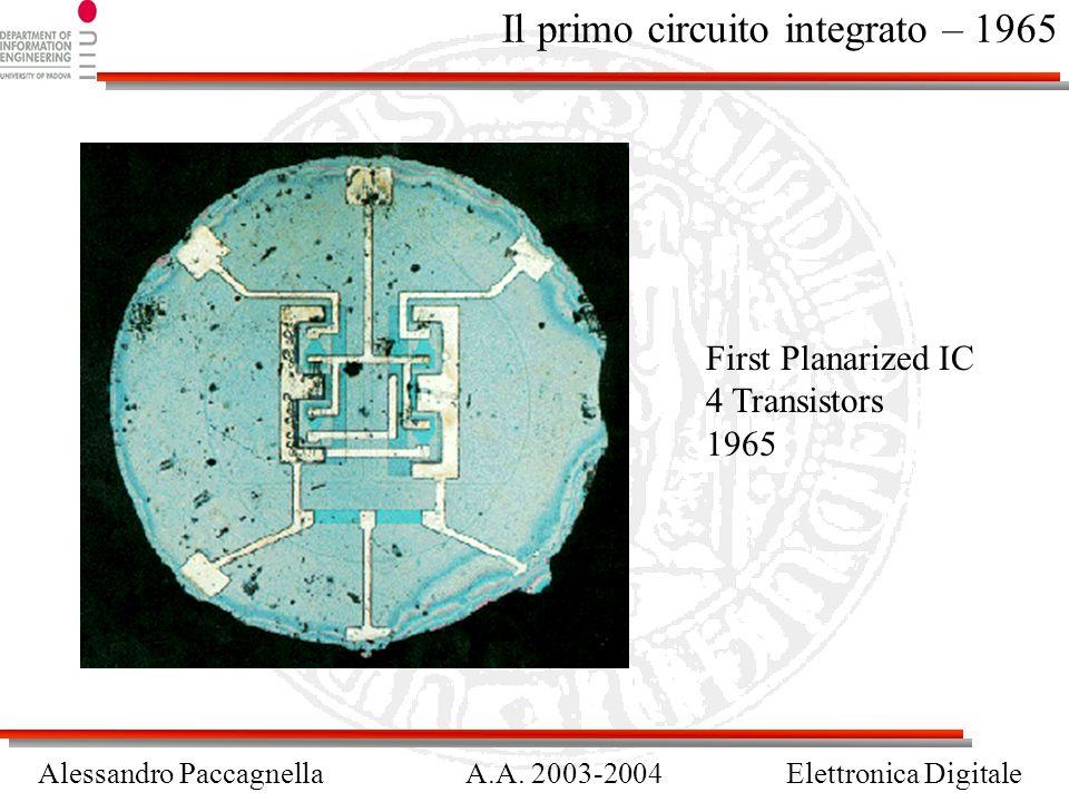 Il primo circuito integrato – 1965
