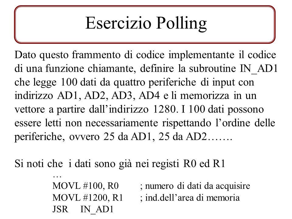 Esercizio Polling