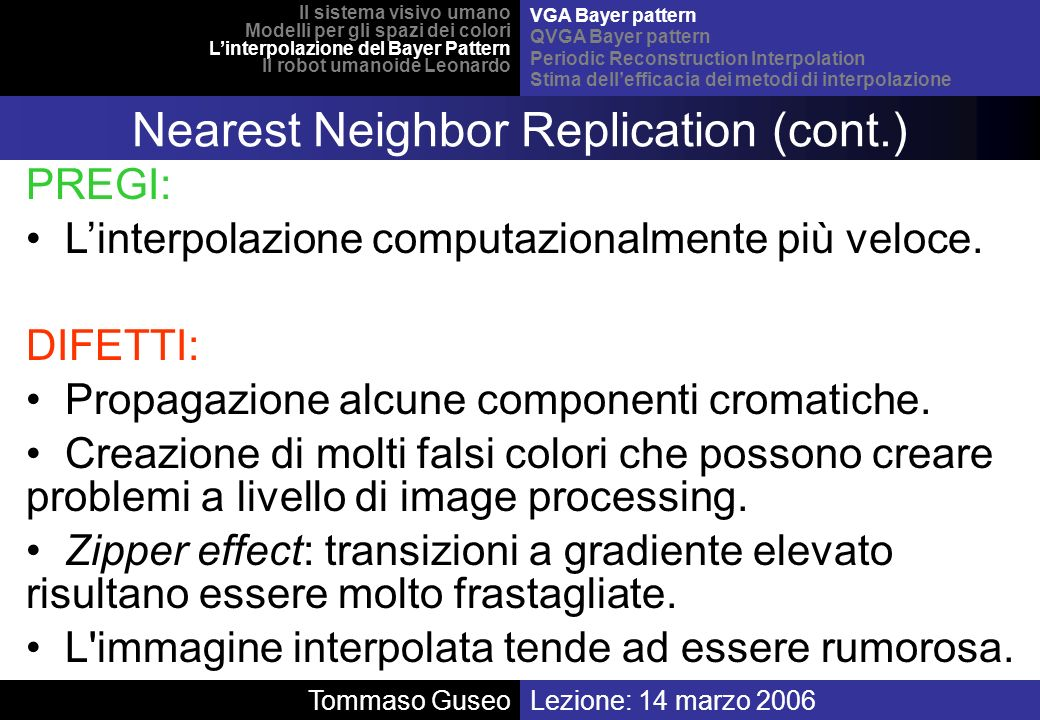 Nearest Neighbor Replication (cont.)