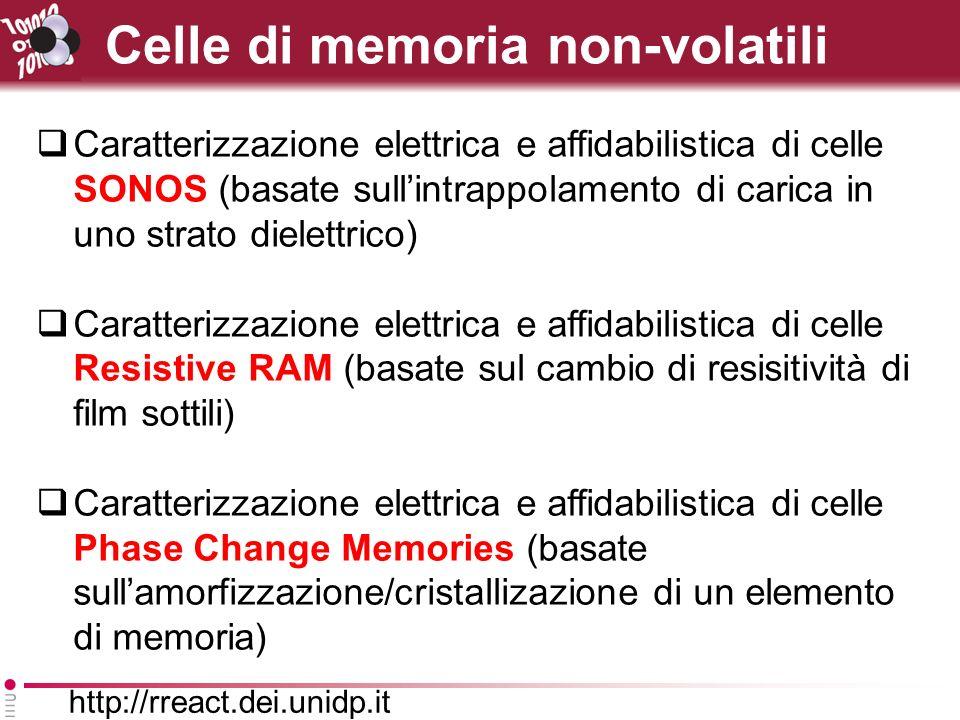 Celle di memoria non-volatili
