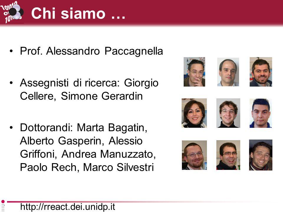 Chi siamo … Prof. Alessandro Paccagnella