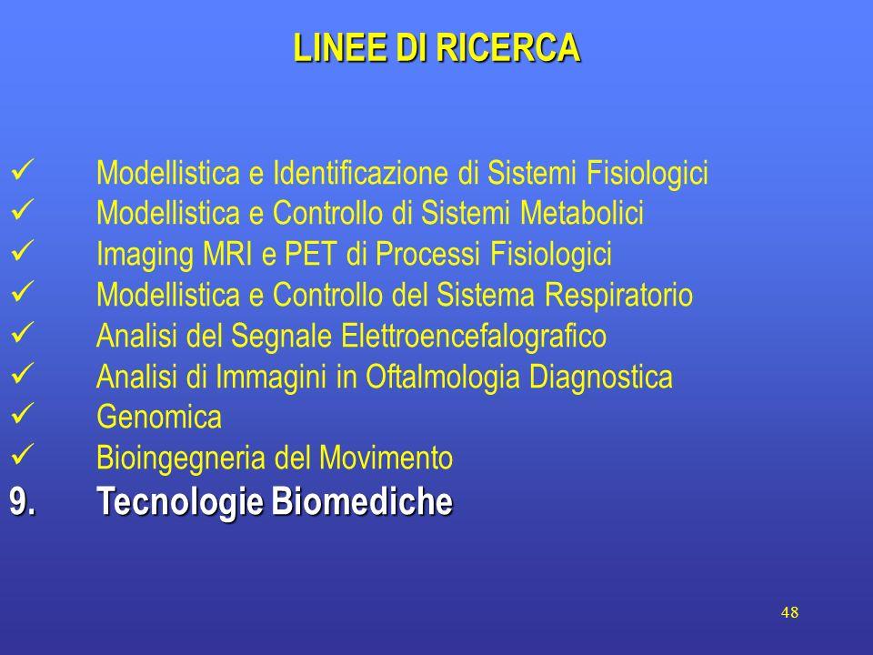9. Tecnologie Biomediche