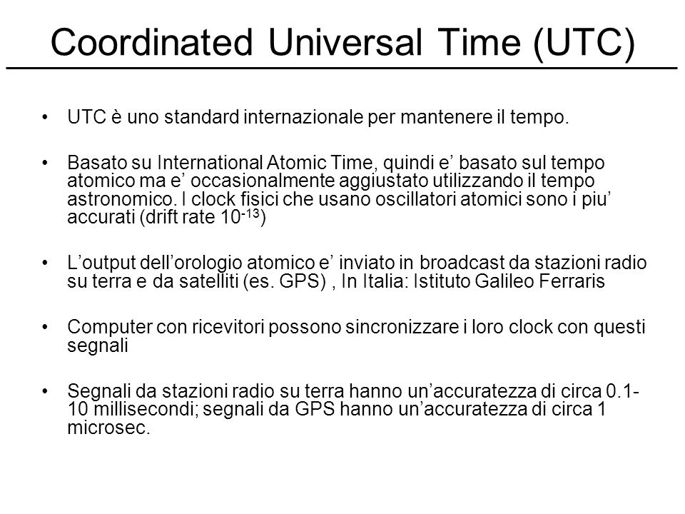 Coordinated Universal Time (UTC)